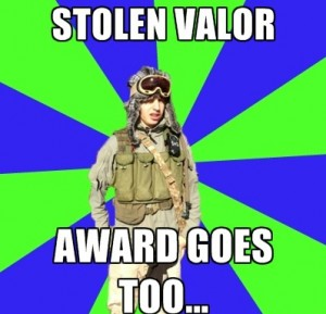 Guard Accused of Stolen Valor